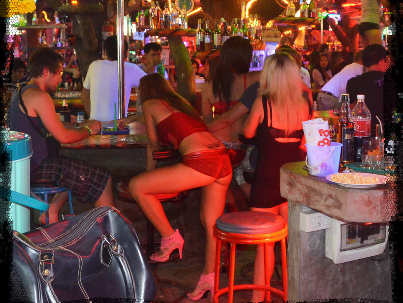 At a bar in South Pattaya