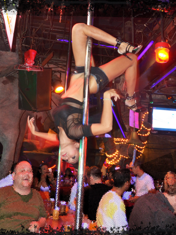 Show girl in a club on Walking Street
