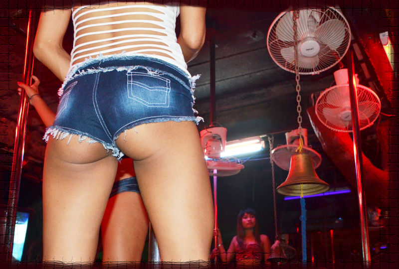 Sexy ass in a Walking Street club