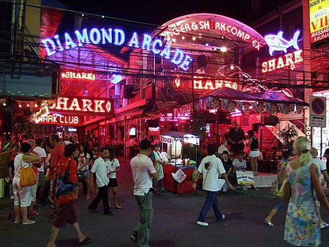 Near Walking Street, South Pattaya