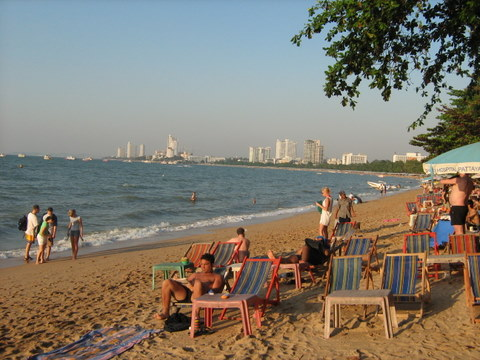 Pattaya beach life