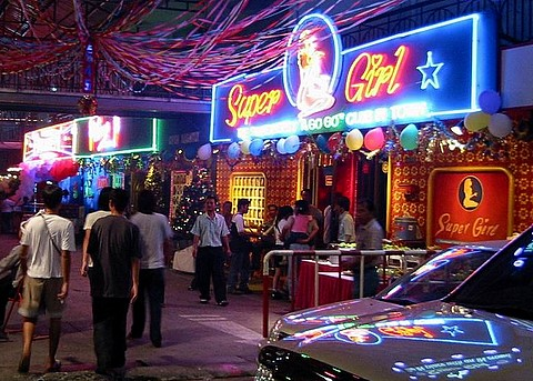 GoGo bar near Walking Street