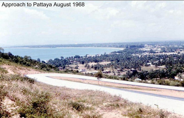 Pattaya bay in 1968 ...